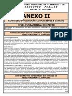 036_AnexoII - Conteúdos