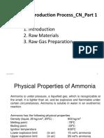 1.4 Ammonia_Syn Gas Prep