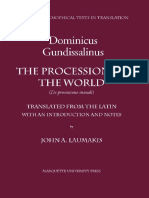 Dominicus Gundissalinus The Procession of the World Mediaeval Philosophical Texts in Translation, No. 39  2002.pdf