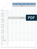 Weekly Planner Mova Design a3