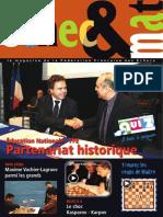 Échec et mat le Nº 109 - Fédération Française des Échecs