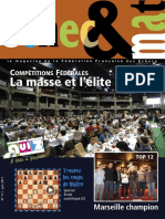 Échec et mat le Nº 111 - Fédération Française des Échecs