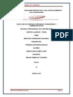 Monografia de Finanzas Internacionales r