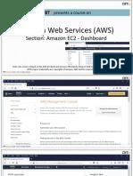 2.2 Amazon EC2 Dashboard
