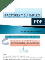 Unidad II Factores y Su Empleo