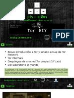 Tor DIY