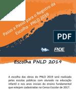 Escolha PNDL 2019