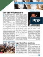 Le Cahier de la Fédé le Nº 1 - Fédération Française des Échecs