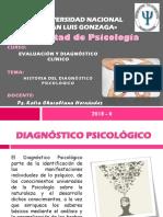 Clase 1 - Historia Del Diagnóstico Psicológico