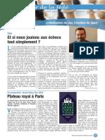 Le Cahier de la Fédé le Nº 28 - Fédération Française des Échecs