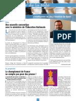 Le Cahier de la Fédé le Nº 29 - Fédération Française des Échecs