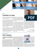 Le Cahier de la Fédé le Nº 31 - Fédération Française des Échecs