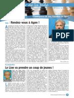 Le Cahier de la Fédé le Nº 35 - Fédération Française des Échecs