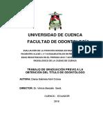 2016 Evaluación de La Posición Hioidea en Radiografías de Pacientes Clase I,II y III Esqueletales