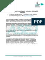 Boletín Publicación de Informes