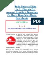 Dieta Detox de 21 Dias do Drº Rodolfo Aurélio e Descubra Download PDF Grátis.pdf