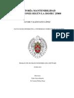 Auditoría Mantenibilidad Aplicaciones Según La Iso_iec 25000