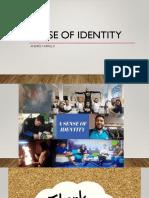 Sense of Identity 2