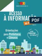2-A LEI DE ACESSO A INFORMAÇÃO - CARTILHA TCE na prática- Atualizada em 2018.pdf