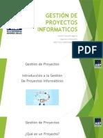01 - Gestión de Proyectos Informáticos - Introducción GPI
