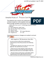 Detailed-Rules Buddyfight Ver.3.06 20190408