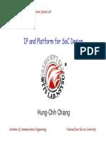 IP and Platform for SoC Design_060321.pdf