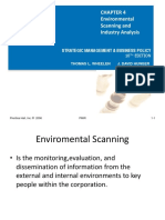 Ch. 4 Environmental Scanning & Industry Analysis