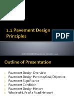 1.1 Pavement Design Principles