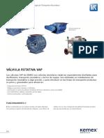 Ficha Tecnica Valvula Rotativa VAP