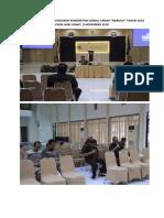 Dokumentasi Rapat Tim Redaksi Penerbitan Jurnal Ilmiah