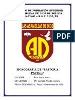 Caratula Mas Monografia de Pastor a Pastor