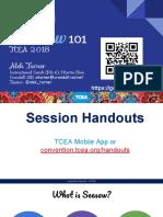 seesaw 101 tcea 2018  1   1