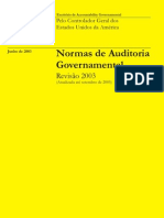 GAO Normas de Auditoria Governamental 2003 Revisão
