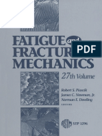 Fatigue Fracture mechanics
