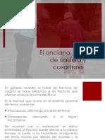 Anciano- Fractura de Cadera, Coxartrosis, Fractura de Femur, Exploracion de Rodilla