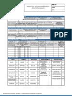 FMTO-009-V.01 Registro de Enfermedades Ocupacionales