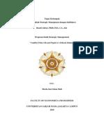 Studi Kasus PepsiCo.Inc - Program Studi Strategic Management - MBA UGM 2019