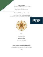 Studi Kasus Uber - Program Studi Strategic Management - MBA UGM 2019