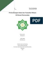 Perkembangan Islam Dan Tamadun Melayu Di(1)