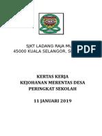 Kertas Kerja Merentas Desa 2019