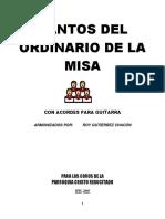Cantos Del Ordinario (Acordes) Ipis