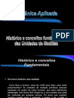 Aulas de Metrologia 01-Historico e conceitos fundamentais.ppt