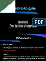 Aulas de Metrologia 02-Paquímetro Erros de Leitura e Conservação