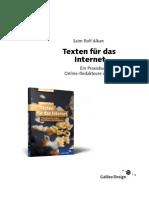 Alkan, Saim Rolf - Texten Fuer Das Internet