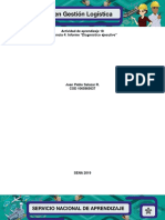 """Evidencia 4 Informe """"Diagnóstico Ejecutivo"""""""