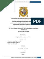 Sintesis y Caracterización Del TrioxalatoferratoIII de Potasio (1)