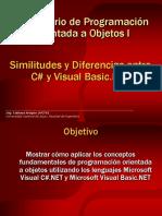 3. LPOO I-Modulo 3-Similitudes y Diferencias entre C# y Visual Basic.NET.ppt