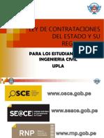 LEY DE CONTRATACIONES CON EL ESTADO