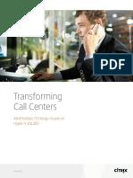 Transforming Call Centers Xendesktop 75 Design Guide on Hyperv 2012r2