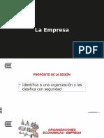 Sesión 2.- Organizaciones Económicas